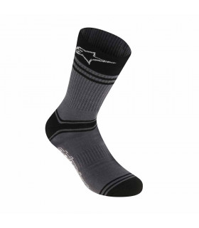 ALPINESTARS SUMMER SOCKS (GREY/BLACK)
