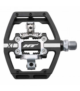 HT X1 DOWNHILL PEDALS (BLACK)