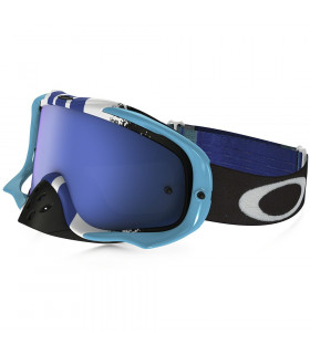 OAKLEY CROWBAR (PINNED RACE BLUE/WHITE)