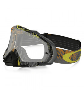 OAKLEY MAYHEM PRO (PODIUM CHECK ORANGE/CLEAR)