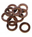 BROOKS LEATHER RING FOR HANDLEBAR GRIPS (10 PIECES/HONEY)
