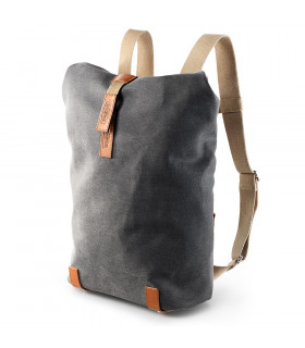 BROOKS PICKWICK COTTON CANVAS 12L BACKPACK (GREY)