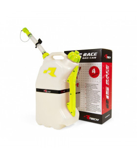 GAS CAN RTECH 15LT. AMARILLO.