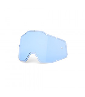 LENTE RECAMBIO BLUE ANTI-FOG INJECTED  (RACECRAFT/ACCOURI/STRATA)