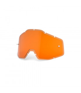 LENTE RECAMBIO HIPER PERSIMMON ANTI-FOG INJECTED  (RACECRAFT/ACCOURI/STRATA)