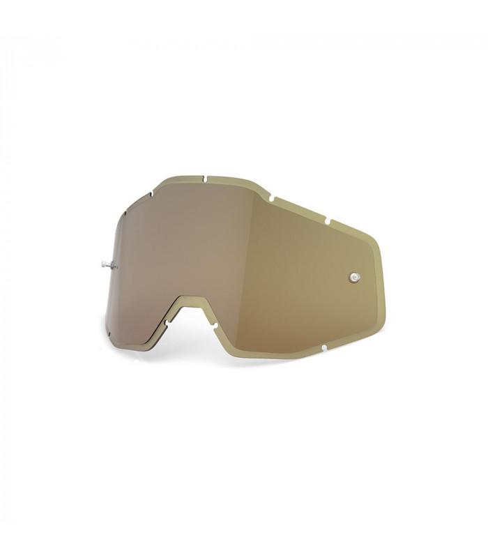 LENTE RECAMBIO HIPER OLIVE ANTI-FOG INJECTED  (RACECRAFT/ACCOURI/STRATA)