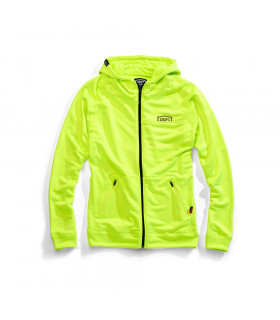 "SUDADERA 100% ""UNION"" FLO YELLOW"