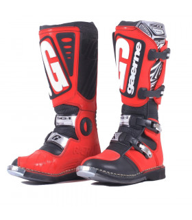 GAERNE SG-1 BOOTS (BLACK-RED/SIZE: 40)