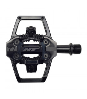 PEDALES HT MTB T1 STEALTH BLACK
