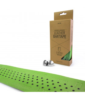 FINNA LEATHER BAR TAPE (GREEN)