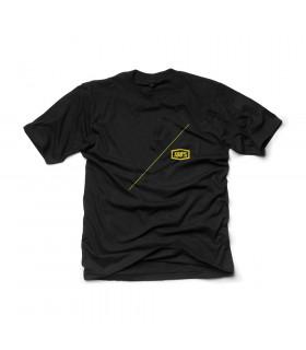 100% AIRLINE T-SHIRT (BLACK)