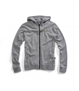 "SUDADERA 100% ""CHAMBER"" GUNMETAL HEATHER"