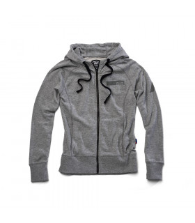"SUDADERA CHICAS 100% ""JOURNEY"" GUNMETAL HEATHER"
