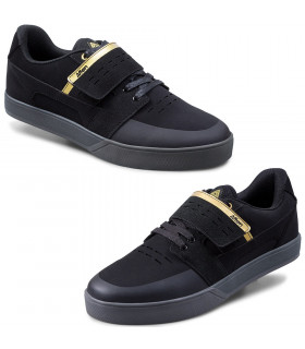 AFTON VECTAL CLIP SHOES (BLACK/GOLD)