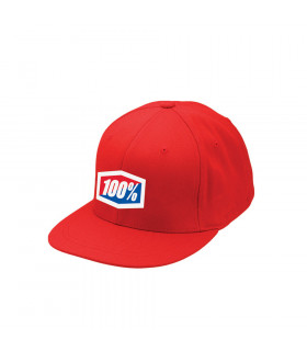 "GORRA 100% ""ESSENTIAL"" J-FIT FLEXFIT ROJA"