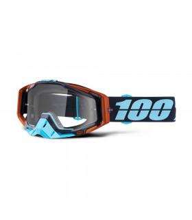 MASCARA 100% RACECRAFT ERGONO (LENTE TRANSP)