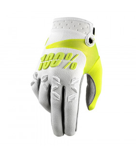 100% AIRMATIC GLOVES (WHITE)
