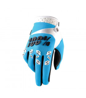 100% AIRMATIC GLOVES (BLUE)