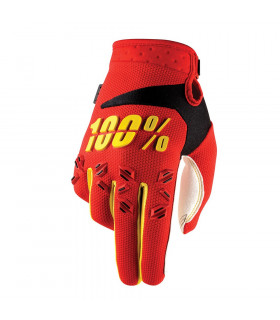 100% AIRMATIC GLOVES (RED)