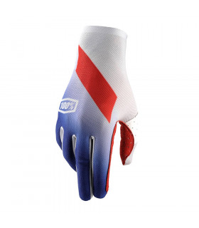 100% CELIUM GLOVES (SLANT BLUE)