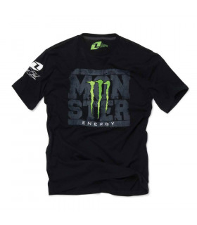 CAMISETA TEAM MONSTER (NEGRA/TALLA XL)