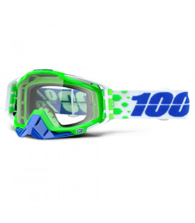 100% RACECRAFT ALCHEMY GOGGLES (CLEAR LENS)