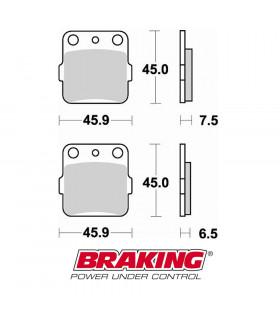 BRAKING 686SM1 ORGANIC BRAKE  PADS