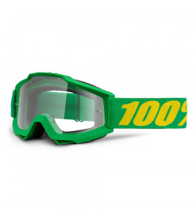 100% ACCURI FORREST GOGGLES  (CLEAR LENS)