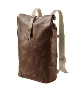 BOLSA BROOKS PICKWICK 26lt HARD LEATHER BROWN