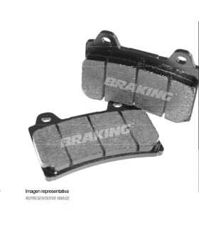 BRAKING 748SM1 SEMI METALLIC BRAKE PADS
