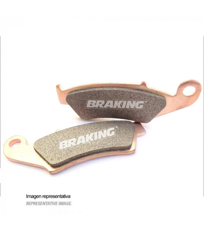 BRAKING 773CM44 OFF ROAD  SINTERED BRAKE PADS