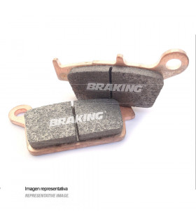 PASTILLAS DE FRENO OFF ROAD SINTERIZADAS BRAKING 773CM46