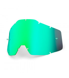 100% ANTI FOG LENS (MIRROR GREEN SMOKED)