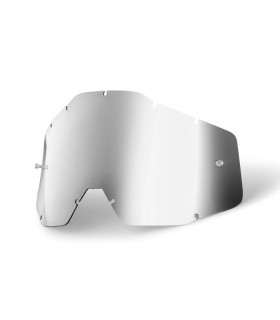 100% ANTI FOG LENS (MIRROR SILVER)