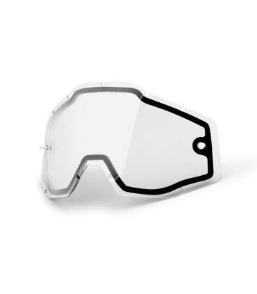 100% NON VENTED DUAL LENS (CLEAR)