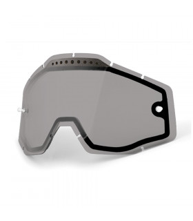 100% DUAL VENTED LENS (SMOKED)