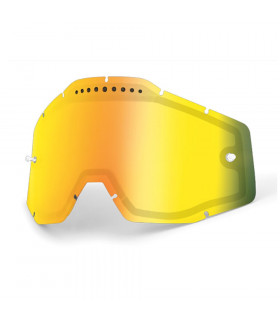 100% DUAL VENTED LENS (MIRROR GOLD)