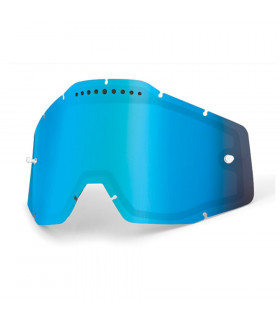 100% DUAL VENTED LENS (MIRROR BLUE)