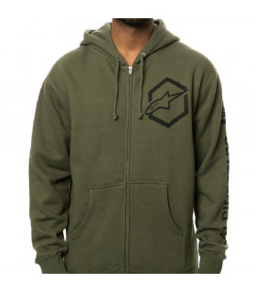ALPINESTARS AJAX SWEATSHIRT  (MILITARY GREEN)