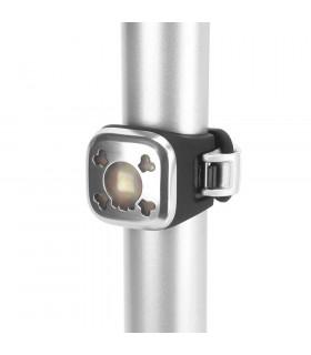 KNOG BLINDER 1 REAR LED BIKE LIGHT (SKULL/CHROME)