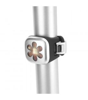 KNOG BLINDER 1 REAR LED BIKE LIGHT (FLOWER/SILVER)