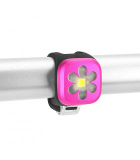 KNOG BLINDER 1 FRONT LIGHT (FLOWER/PINK)