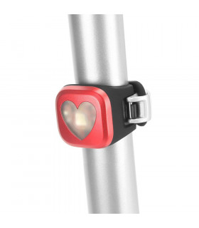 KNOG BLINDER 1 REAR LIGHT (HEART/RED)