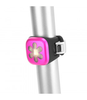 KNOG BLINDER 1 REAR LIGHT (FLOWER/PINK)