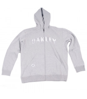 SUDADERA OAKLEY THE POINT (GRIS)