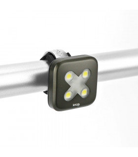 KNOG BLINDER 4 FRONT LIGHT (CROSS/GUNMETAL)