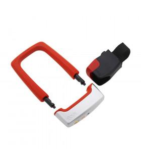 KNOG STRONGMAN U-LOCK WITH BRACKET (RED)