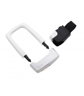 KNOG STRONGMAN U-LOCK WITH BRACKET (WHITE)