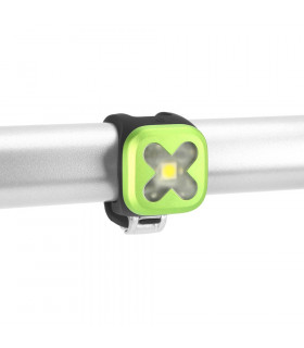 KNOG BLINDER 1 FRONT LIGHT (CROSS/LIME)