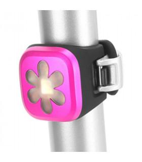 LUZ LED TRASERA KNOG BLINDER 1 (FLOR/ROSA)